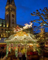 Tarihsel Noel Pazarı Hamburg