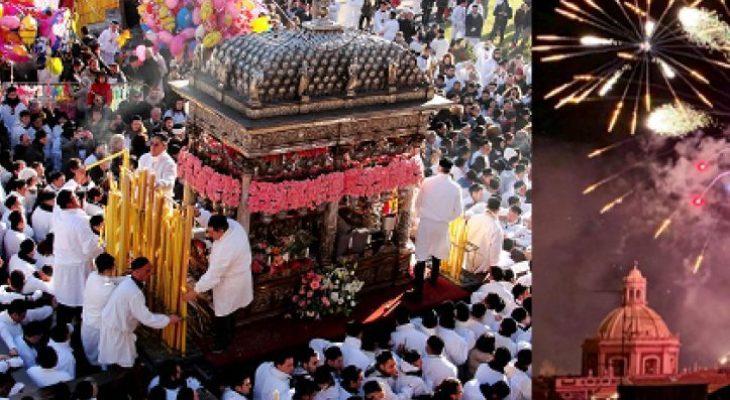 Catania - SantAgata Şenlikleri ve Taormina gezisi...