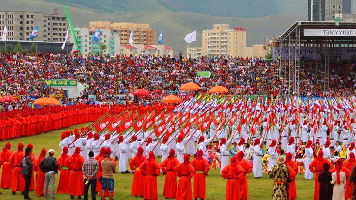 Trans Sibirya İle Moğolistan Naadam Festivali