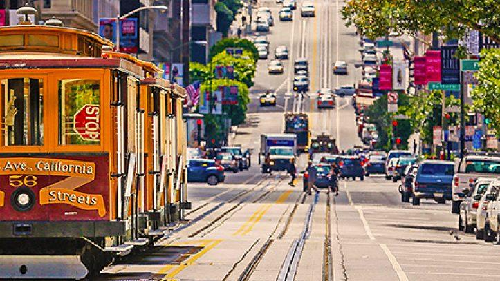 San Franciscodan Los Angelesa