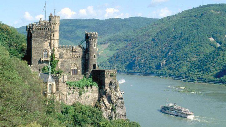 Kurban Bayramında Ren Nehri 4 Ülke