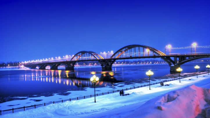 Volga Nehrinde Beyaz Geceler