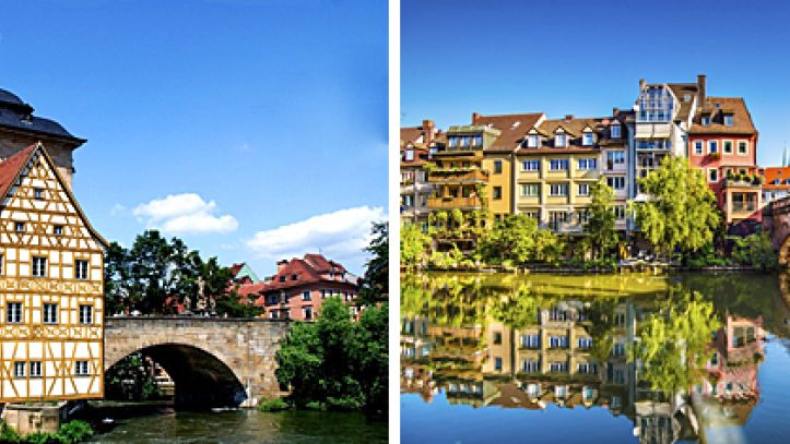 Würzburgtan Münihe Romantik Yol
