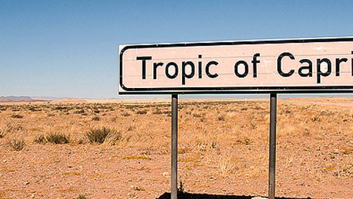 Namibya Botswana Viktorya Şelaleleri