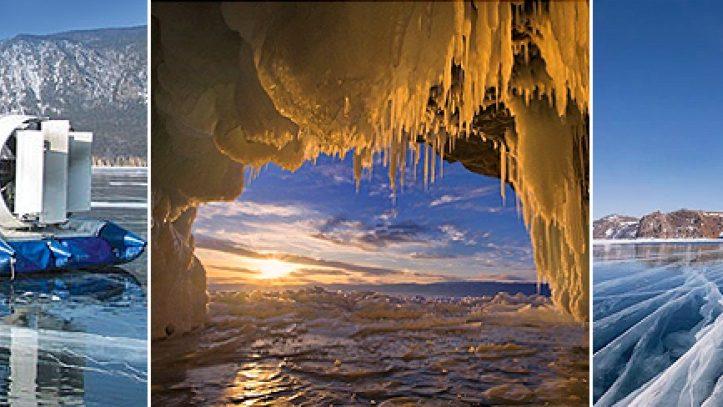 Baykal Gölünde Bir Kış Masalı